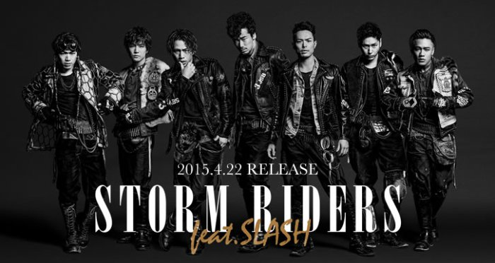 三代目 J Soul Brothers from EXILE TRIBE / STORM RIDERS (feat.SLASH)